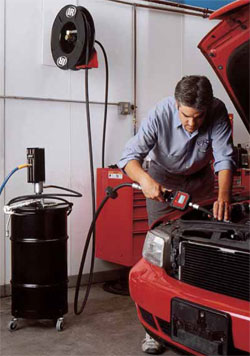 Ingersoll-Rand lubrication pumps