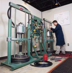 Lincoln lubrication pumps